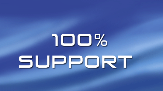 We provide 100% support to our customers. Our reliability is time-tested and the results.